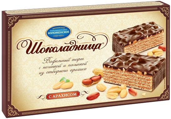 Торт Шоколадница с арахисом Коломенское