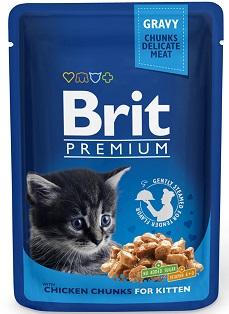 Brit Корм для котят курица Brit Premium