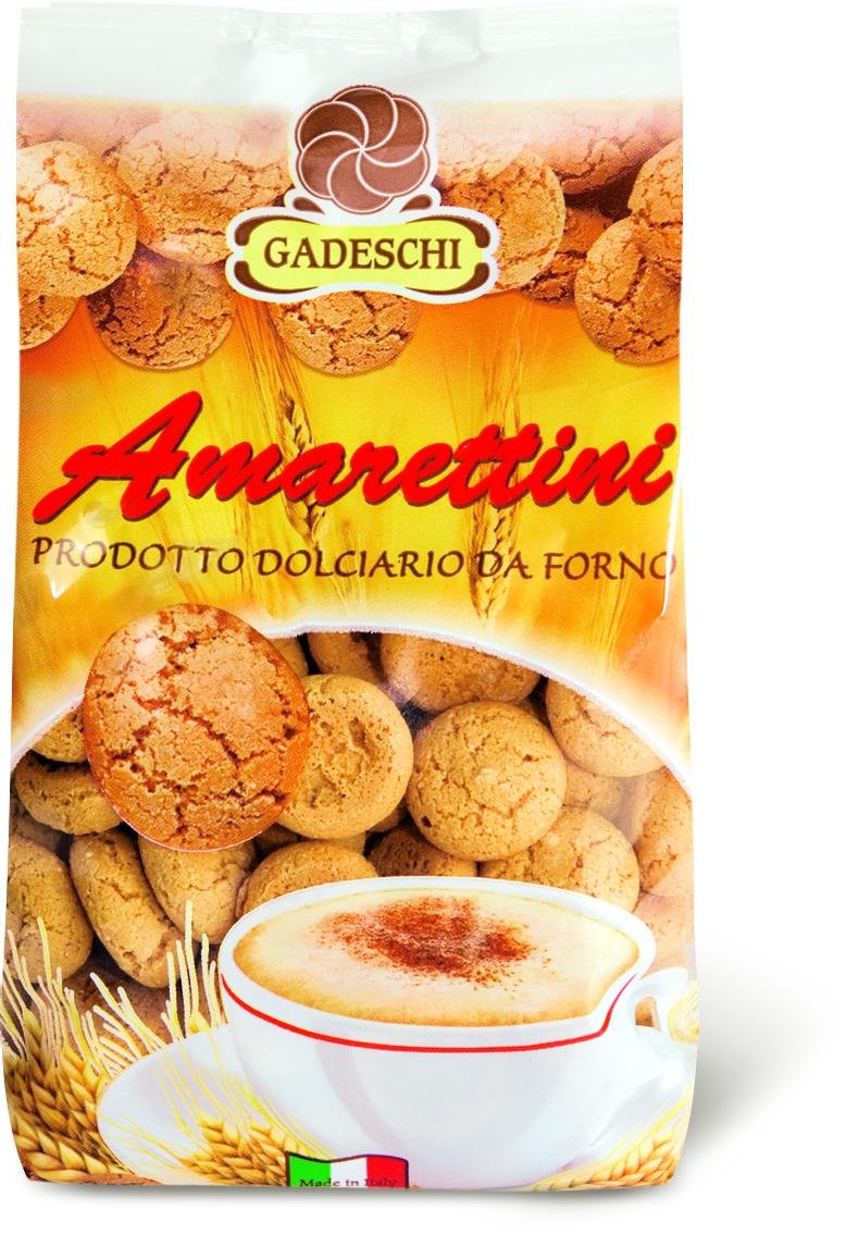 Печенье Амареттини сдобное абрикос/какао Dolciaria GadeschI