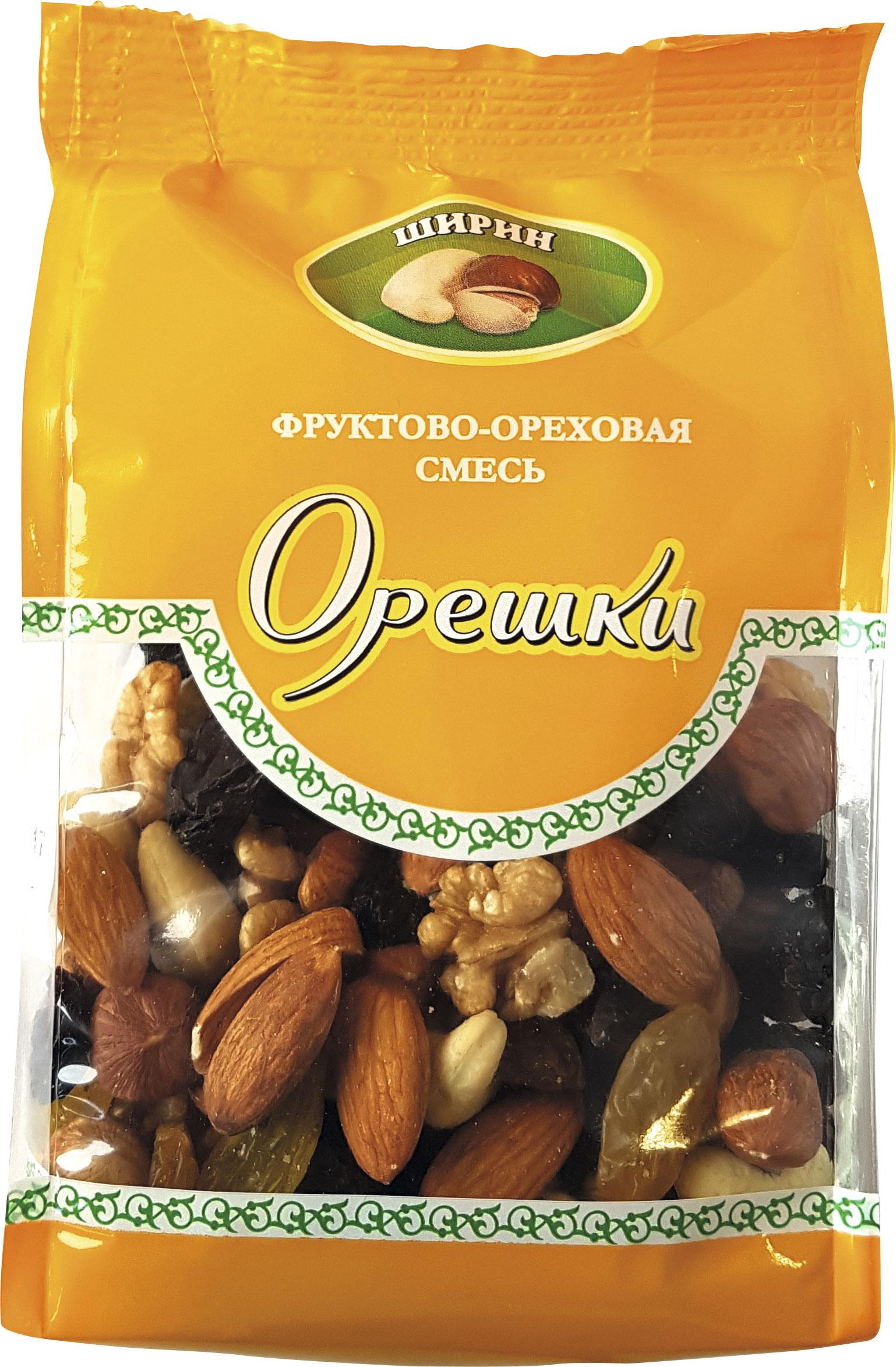 Смесь фруктово-ореховая Орешки  Ширин