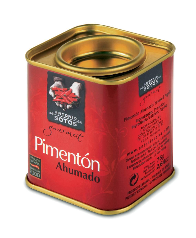 Перец Паприка красный сладкий копченый молотый Antonio Sotos Gourmet