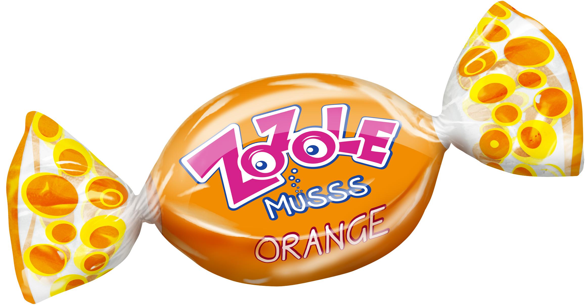 Карамель Zozole Orange/Lemon леденцы вес Mieszko