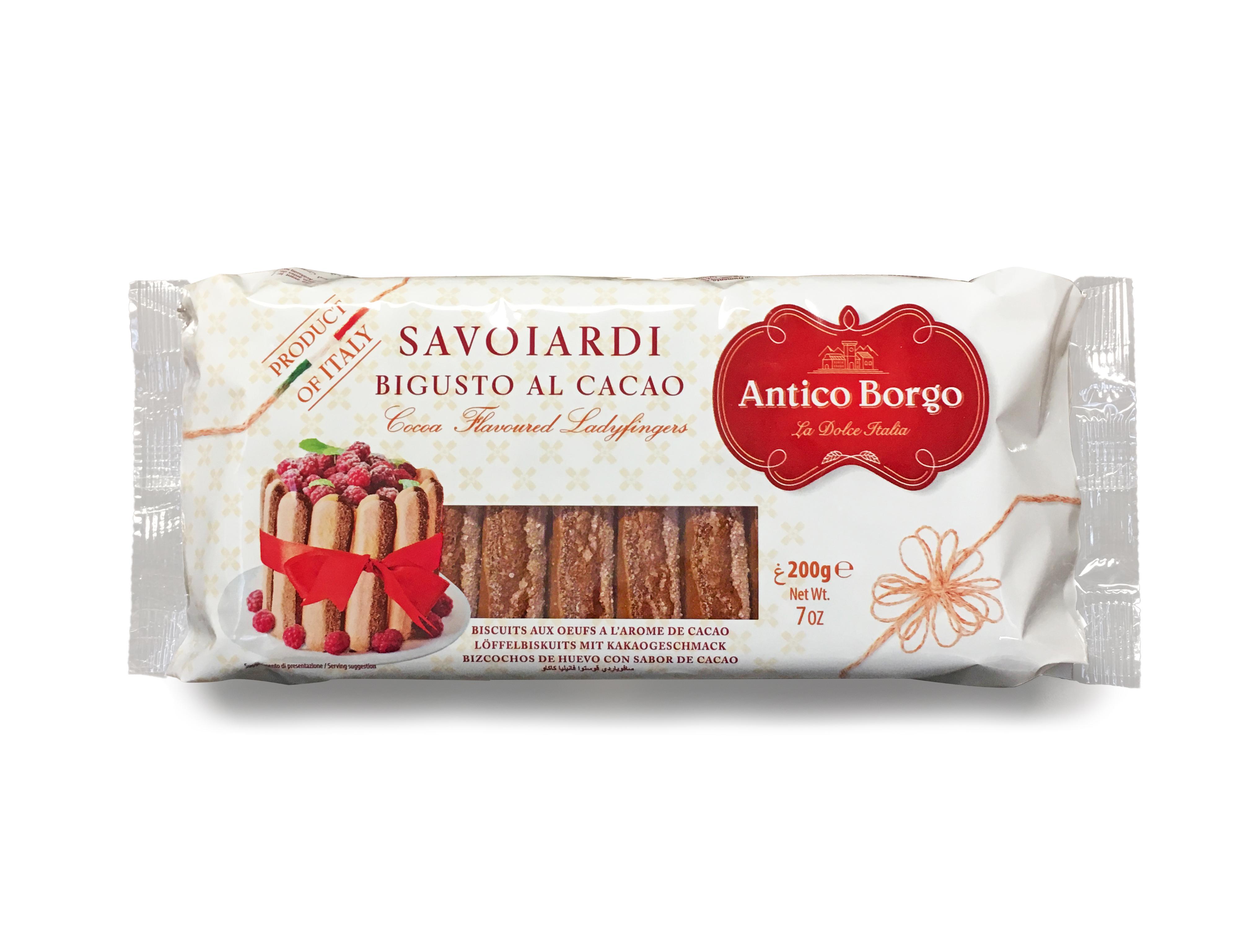 Печенье Дамские пальчики с добавлением какао Antico Borgo