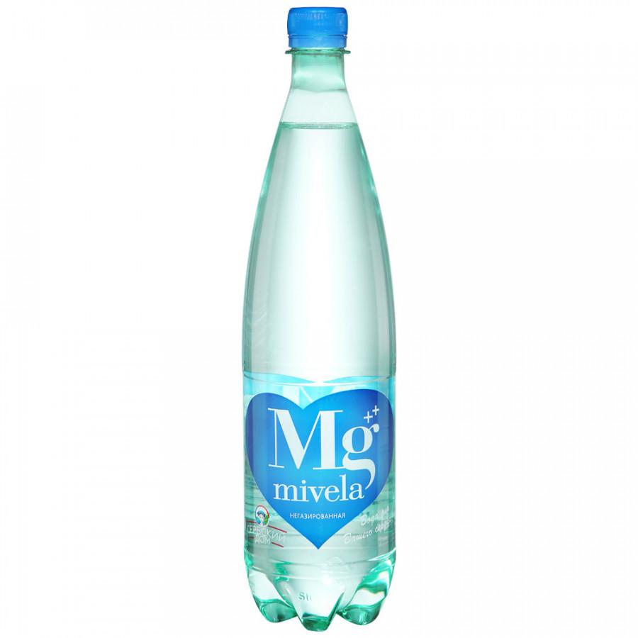 Вода минеральная лечебно-столовая негазированная 1л Mivela