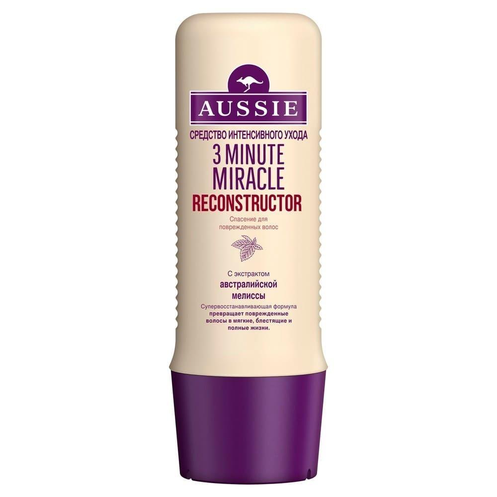 БЕЗ БРЭНДА Реконструктор волос 3 Minute Miracle Aussie