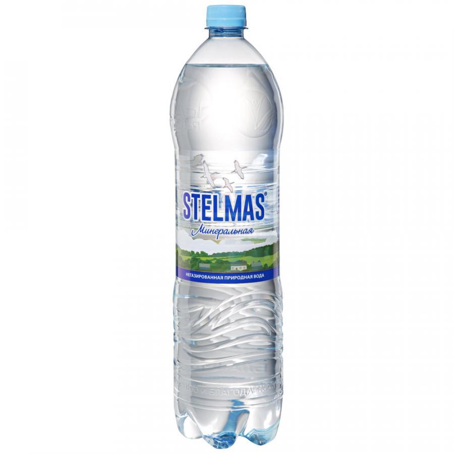 Вода минеральная негазированная 1.5л Стэлмас