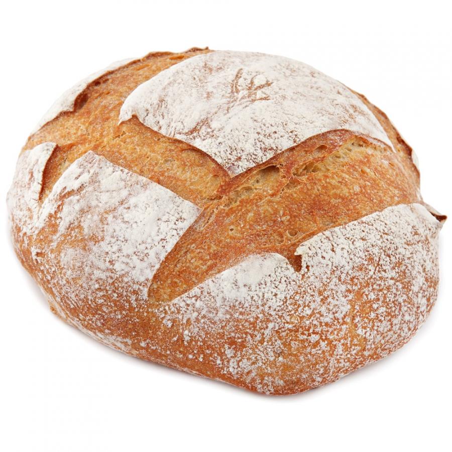 Хлебъ Иван Давыдовъ Хлеб бездрожжевой подовый белый замороженный, 420г