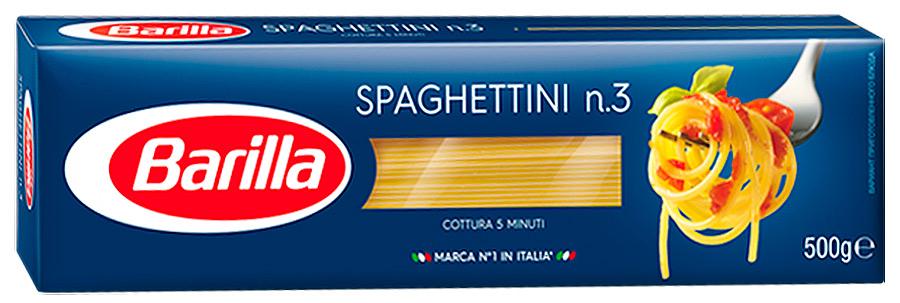 Изделия макаронные Спагеттини 500г Barilla