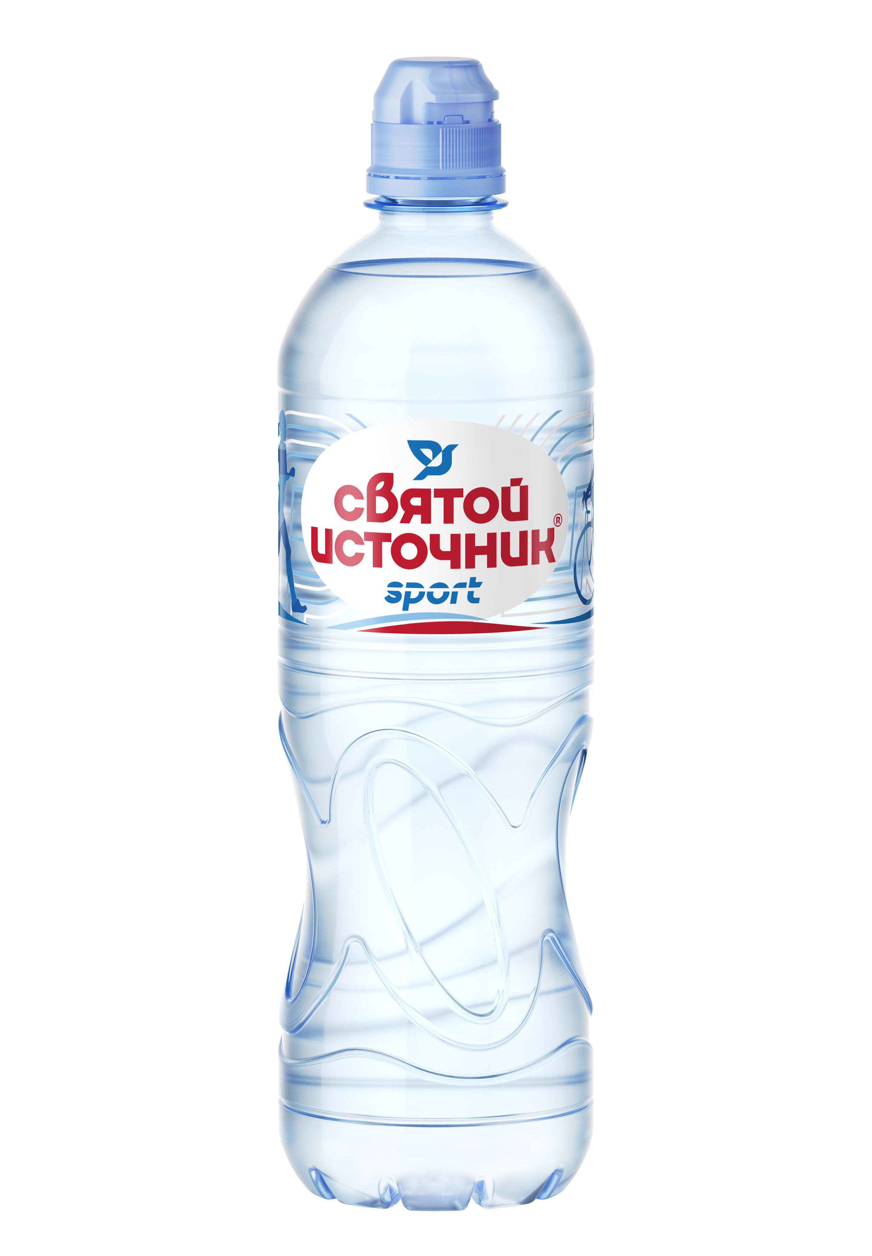 Вода минеральная Без газа спорт Святой Источник