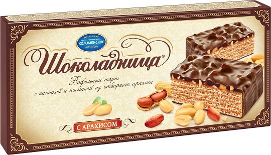 Торт с арахисом Шоколадница