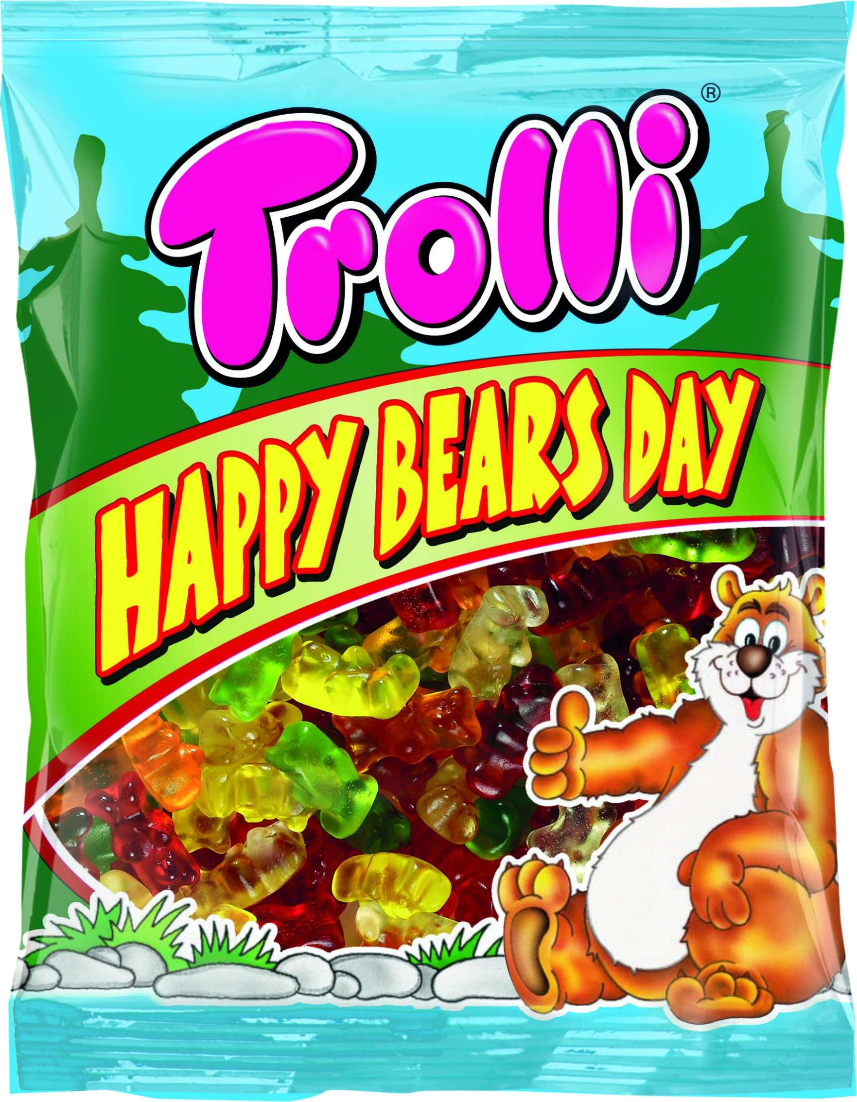 Мармелад жевательный День Счастливых Мишек Trolli