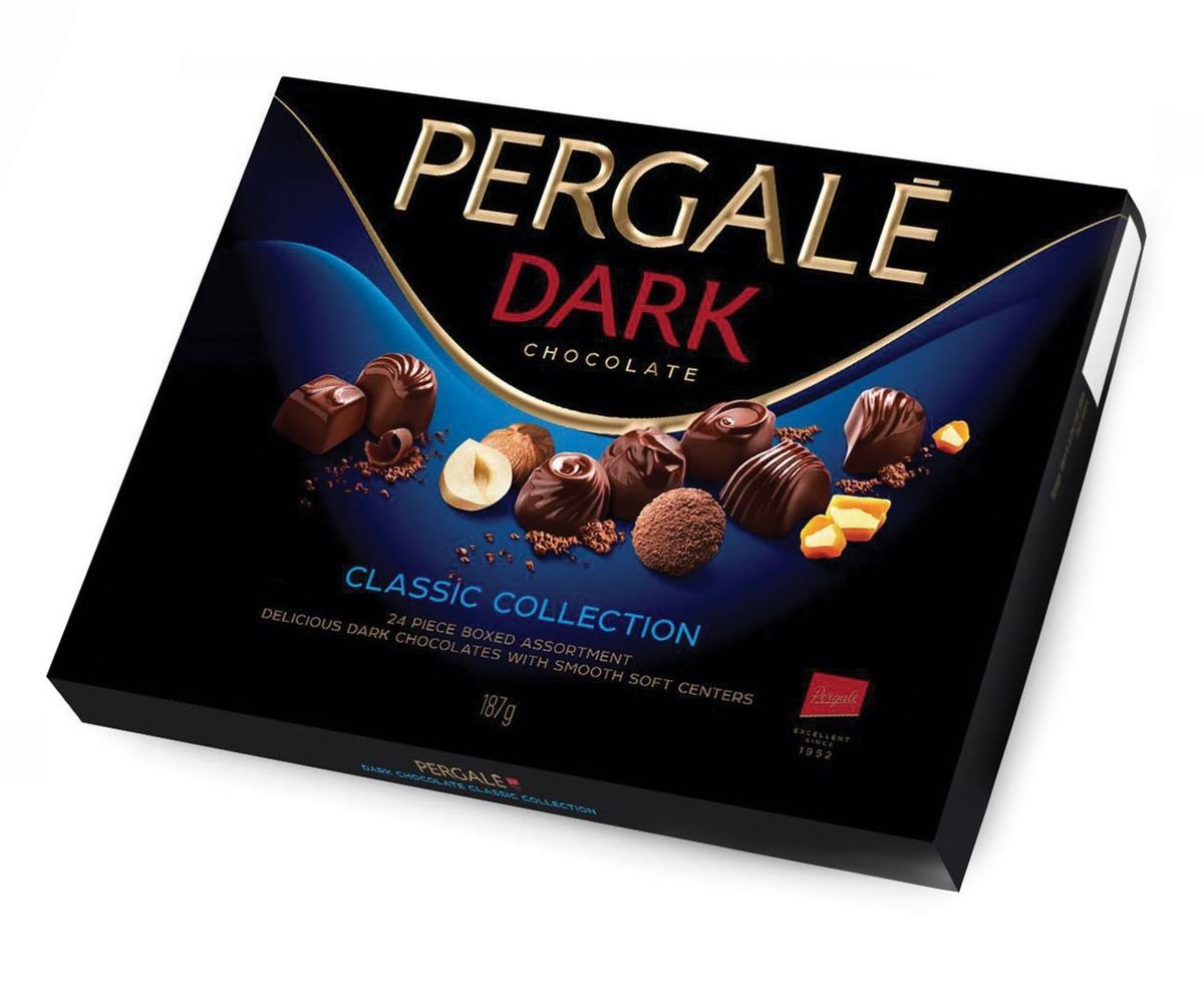 Пергале Набор конфет Зимняя коллекция темный шоколад Pergale набор конфет красный октябрь вдохновенье темный шоколад 240г