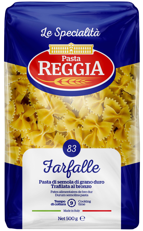 Макаронные изделия из твердых сортов пшеницы Farfalle 500г Reggia