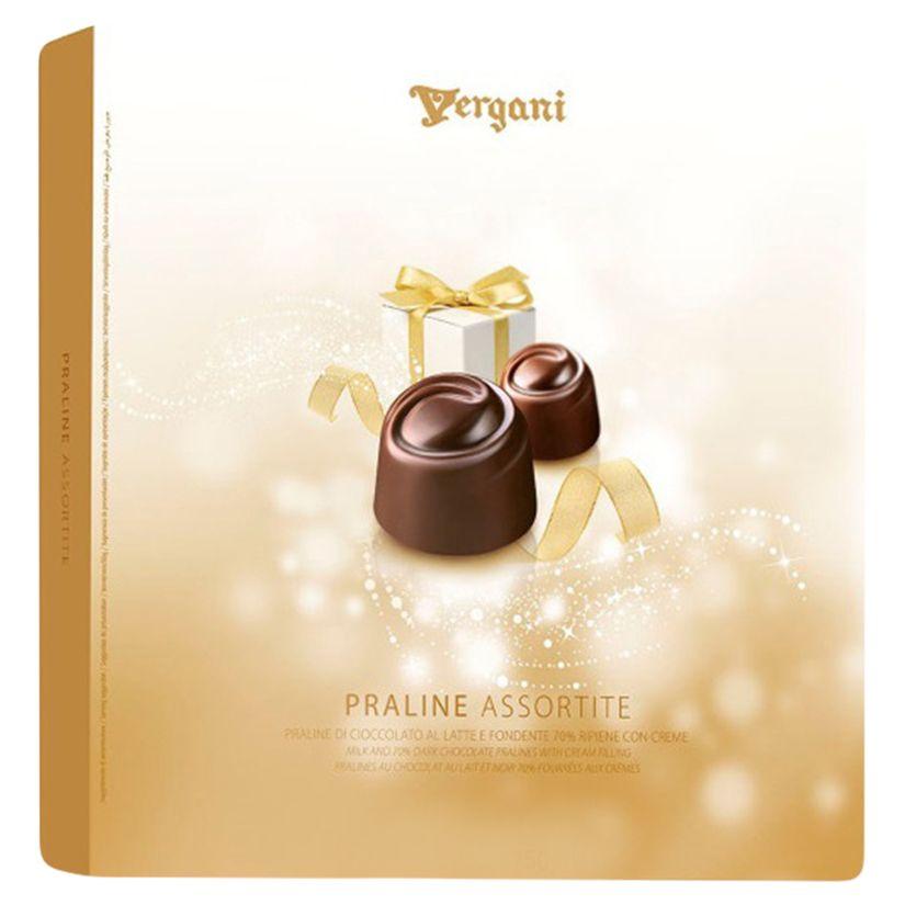 СИ - Ассорти пралине из молочного шоколада 150г Vergani