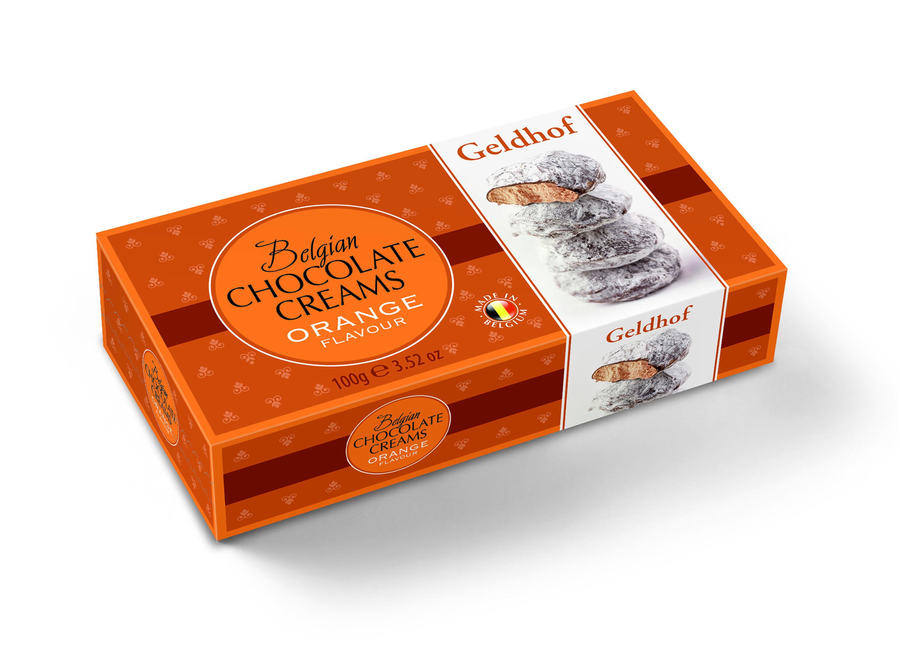 Суфле шоколадное со вкусом апельсина Geldhof
