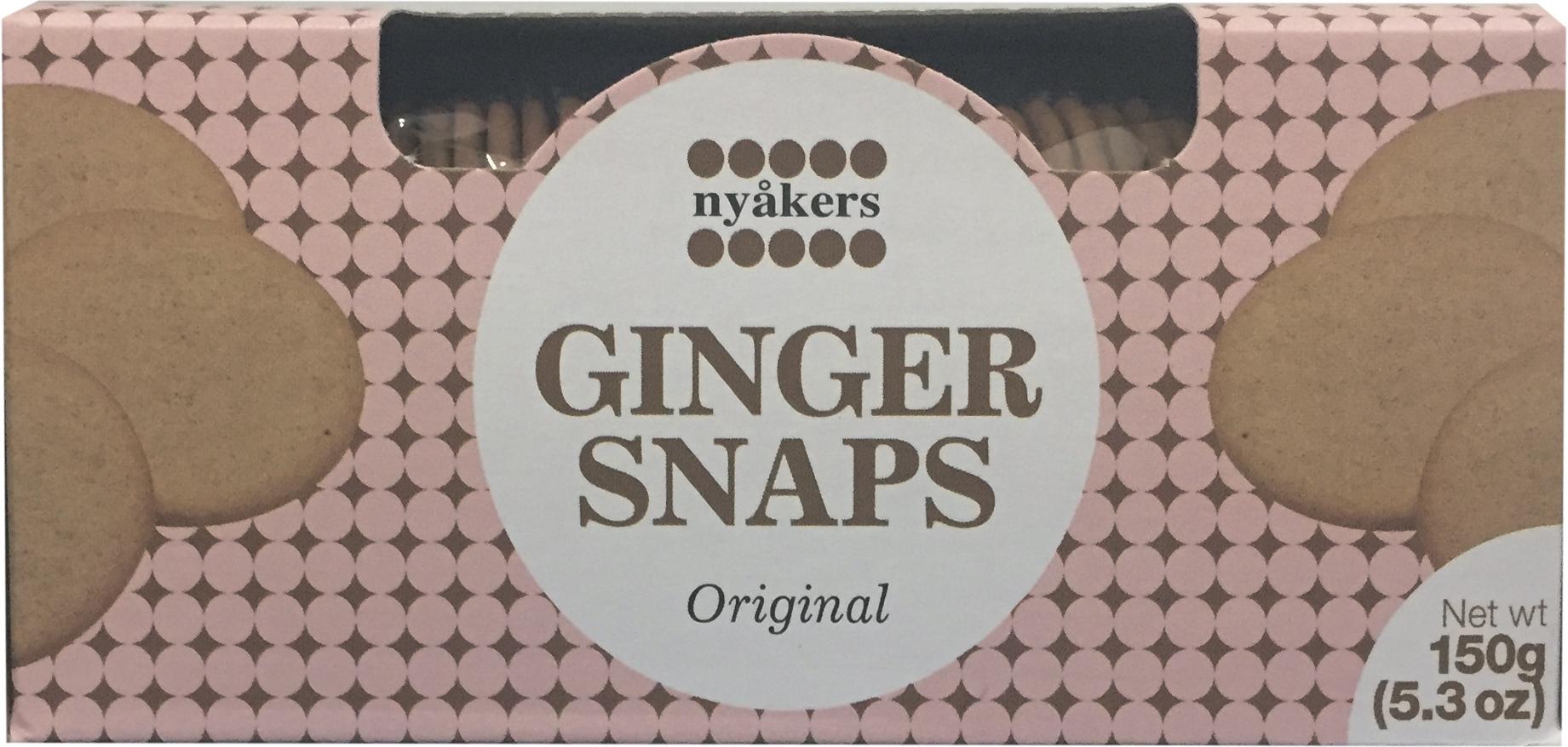 Печенье имбирное оригинальное Nyakers