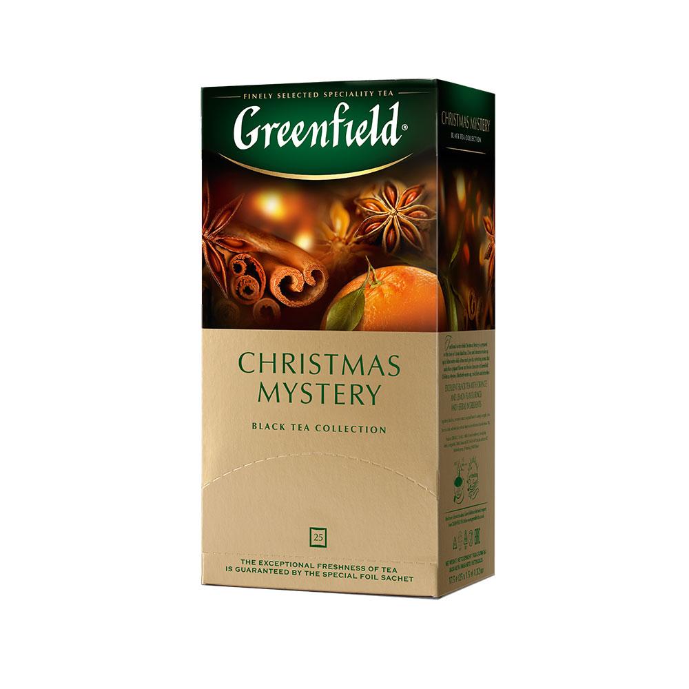Гринфилд Чай черный Christmas Mystery 25 пакетиков Greenfield