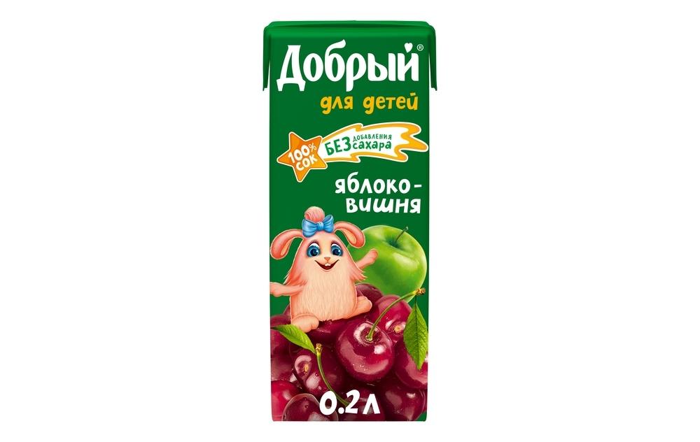Фото - Добрый Сок Добрый яблоко/вишня добрый сок мультифрукт добрый