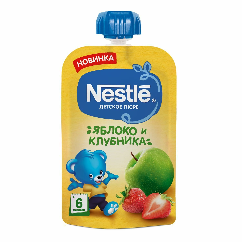 Фото - Nestle Пюре Nestle яблоко-клубника 90г marion nestle pet food politics