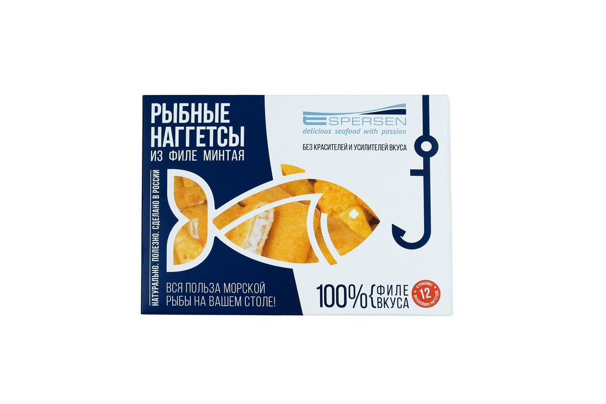 Рыбные наггетсы из филе минтая Espersen