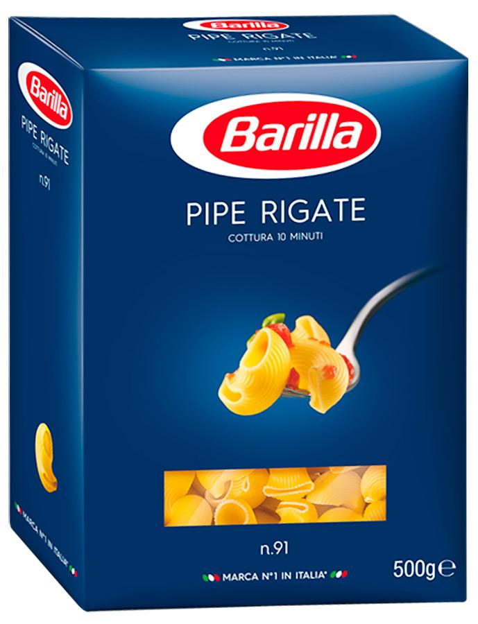 Изделия макаронные Пипе Ригате 500г Barilla