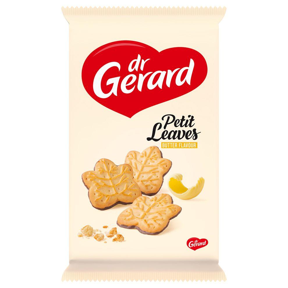 СИ - Печенье сливочное глазированное «листья» 165г Dr Gerard