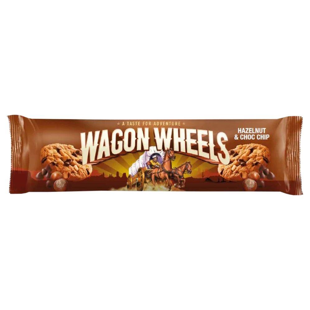 Печенье с фундуком и кусочками шоколада 136г Wagon Wheels Соединенное Королевство
