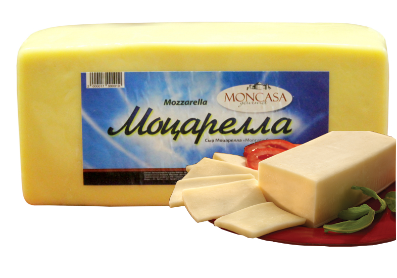БЗМЖ Сыр Моцарелла 42% вес Moncasa Gourmet Уругвай