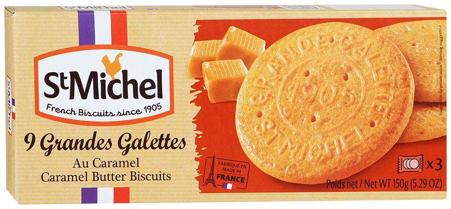 Печенье сливочное Карамельное StMichel