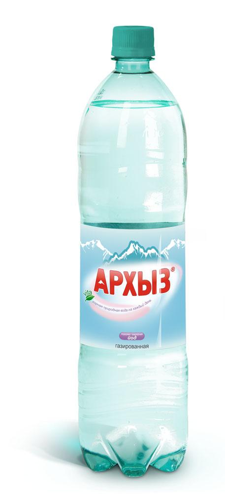 Архыз Вода минеральная газированная Архыз 1.5 л. недорого