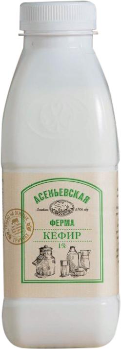 Асеньевская Ферма БЗМЖ Кефир 1% Асеньевская Ферма