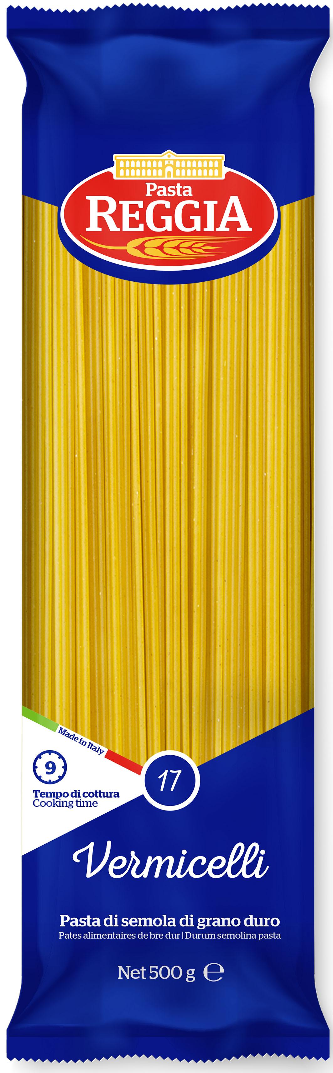 Макаронные изделия из твердых сортов пшеницы Vermicelli 500г Reggia