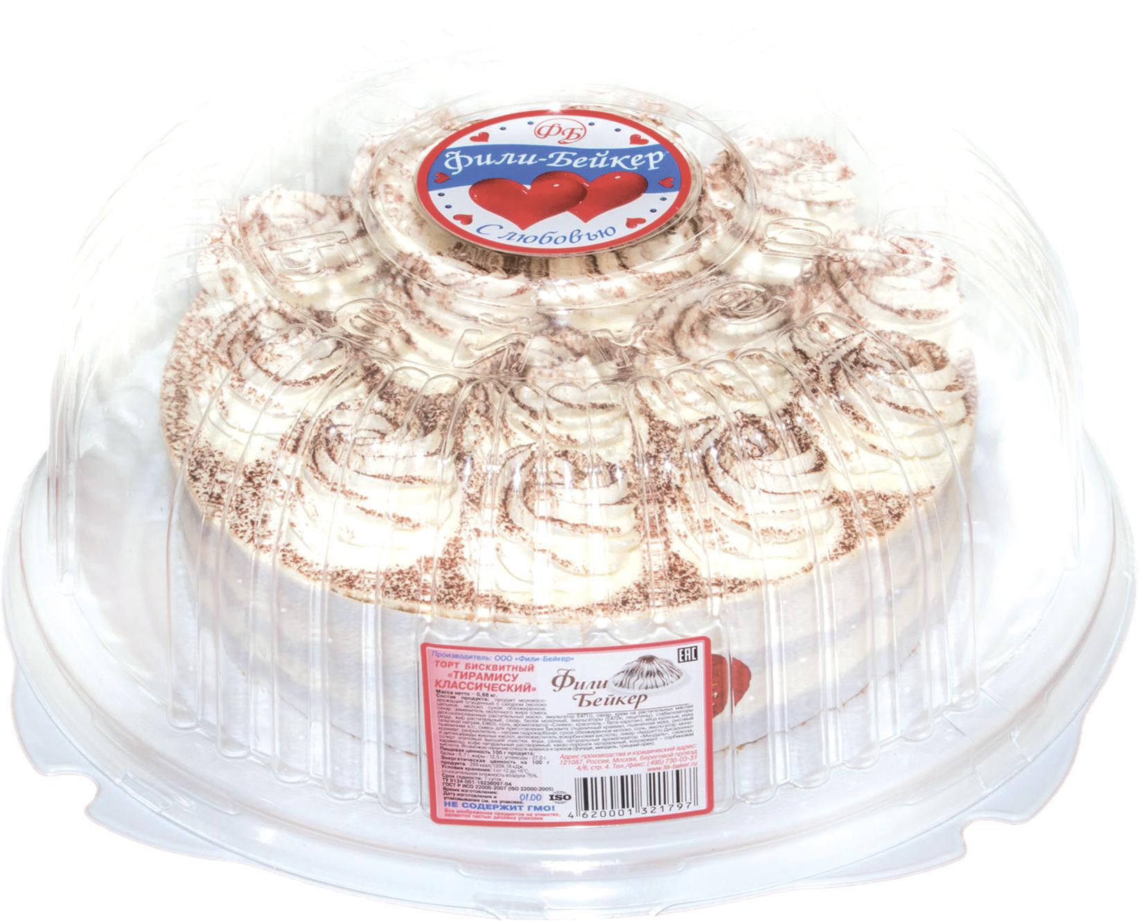 Фили Бейкер Торт Тирамису Классический Фили-Бейкер киевский торт новый киевский фили бейкер