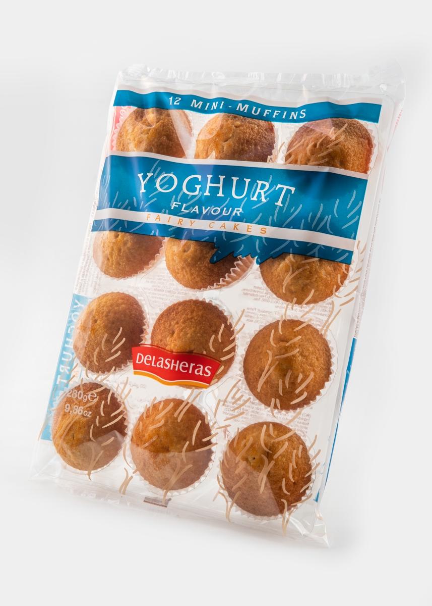 Мини-маффины со вкусом йогурта Delasheras Иcпания