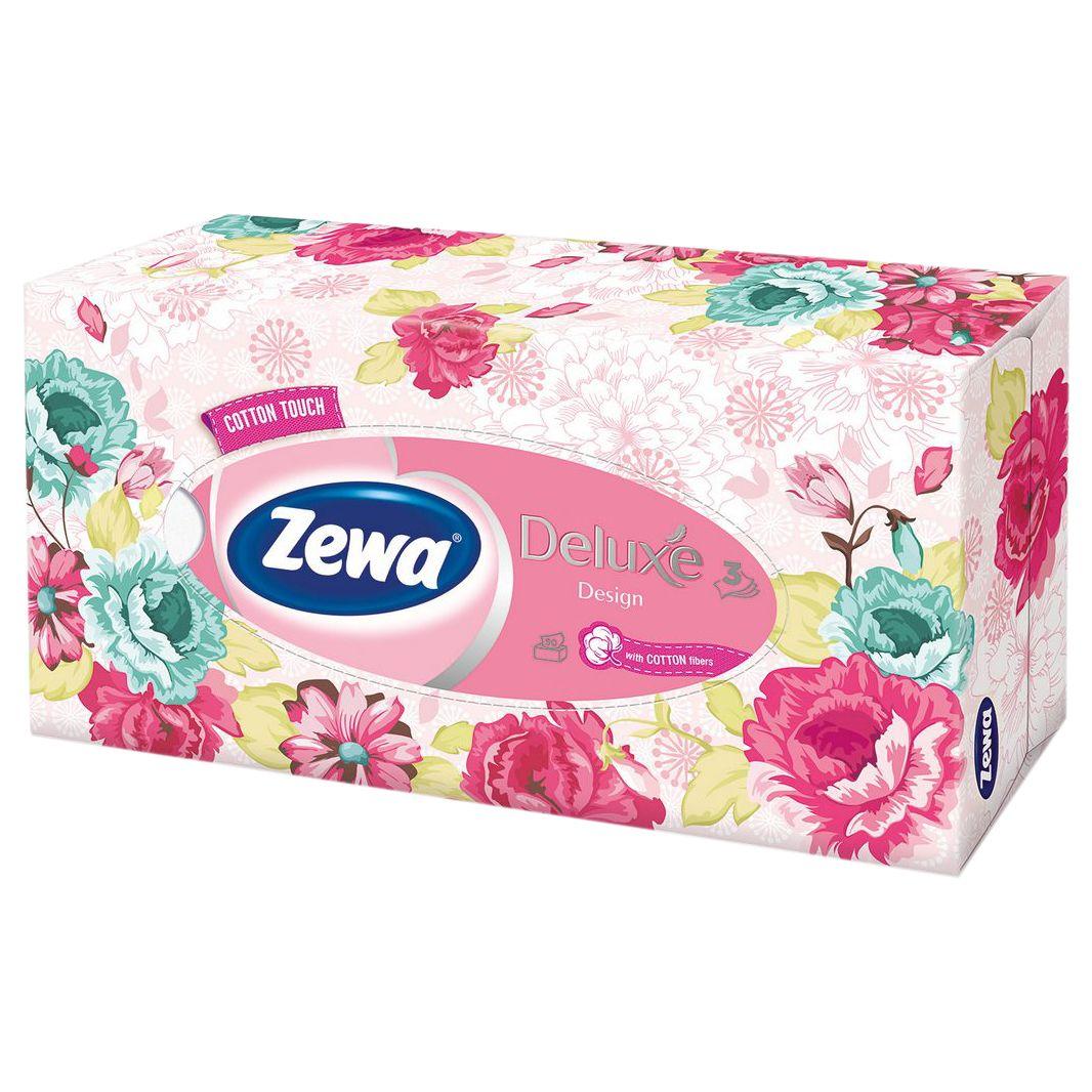 Зева Платки в коробке Софт и Стронг 90шт ZEWA фото