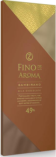 Молочный шоколад Sambirano 49%  O'Zera