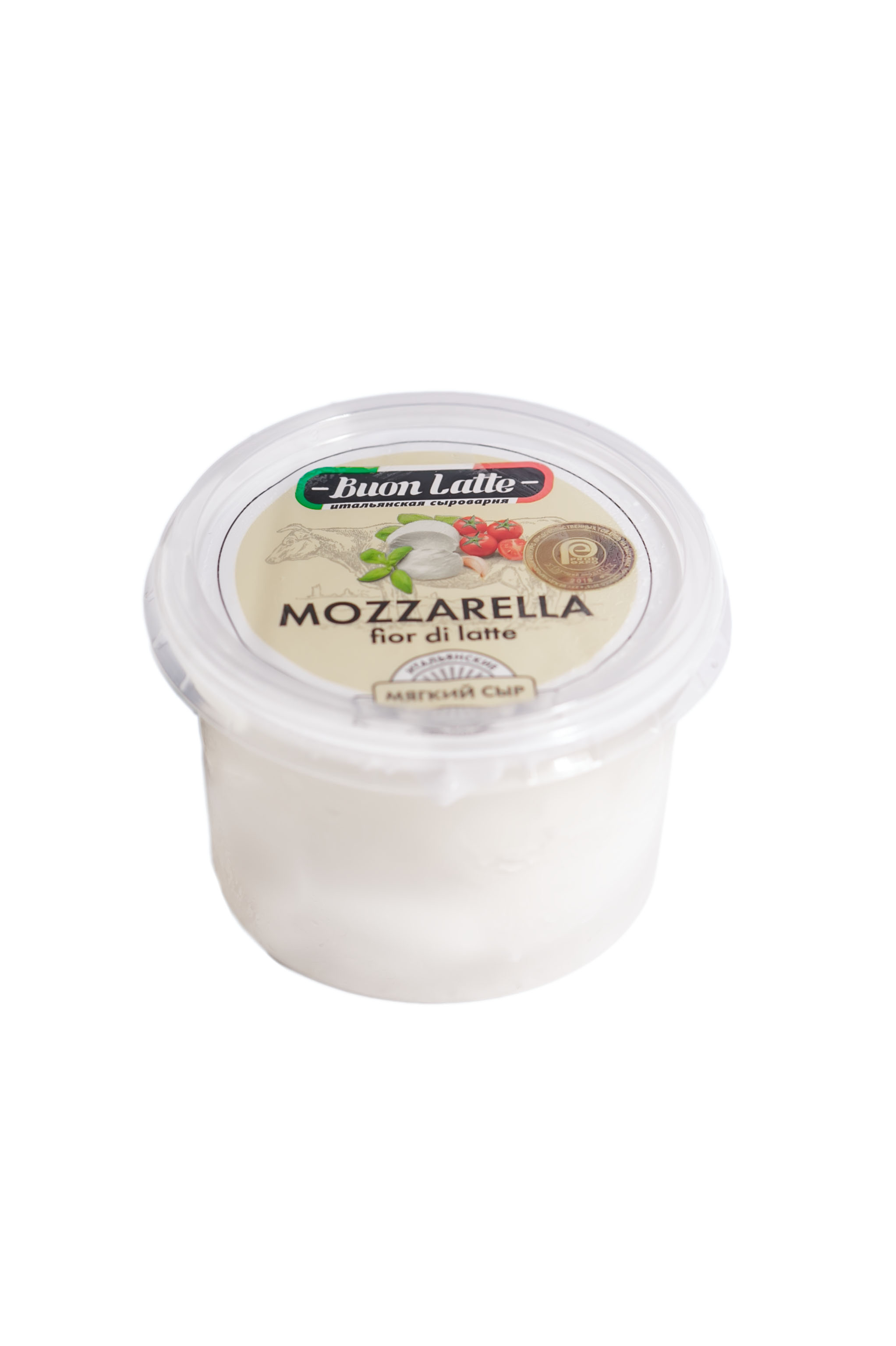 БЗМЖ Сыр моццарелла пластиковый 45-48% Бон Латте