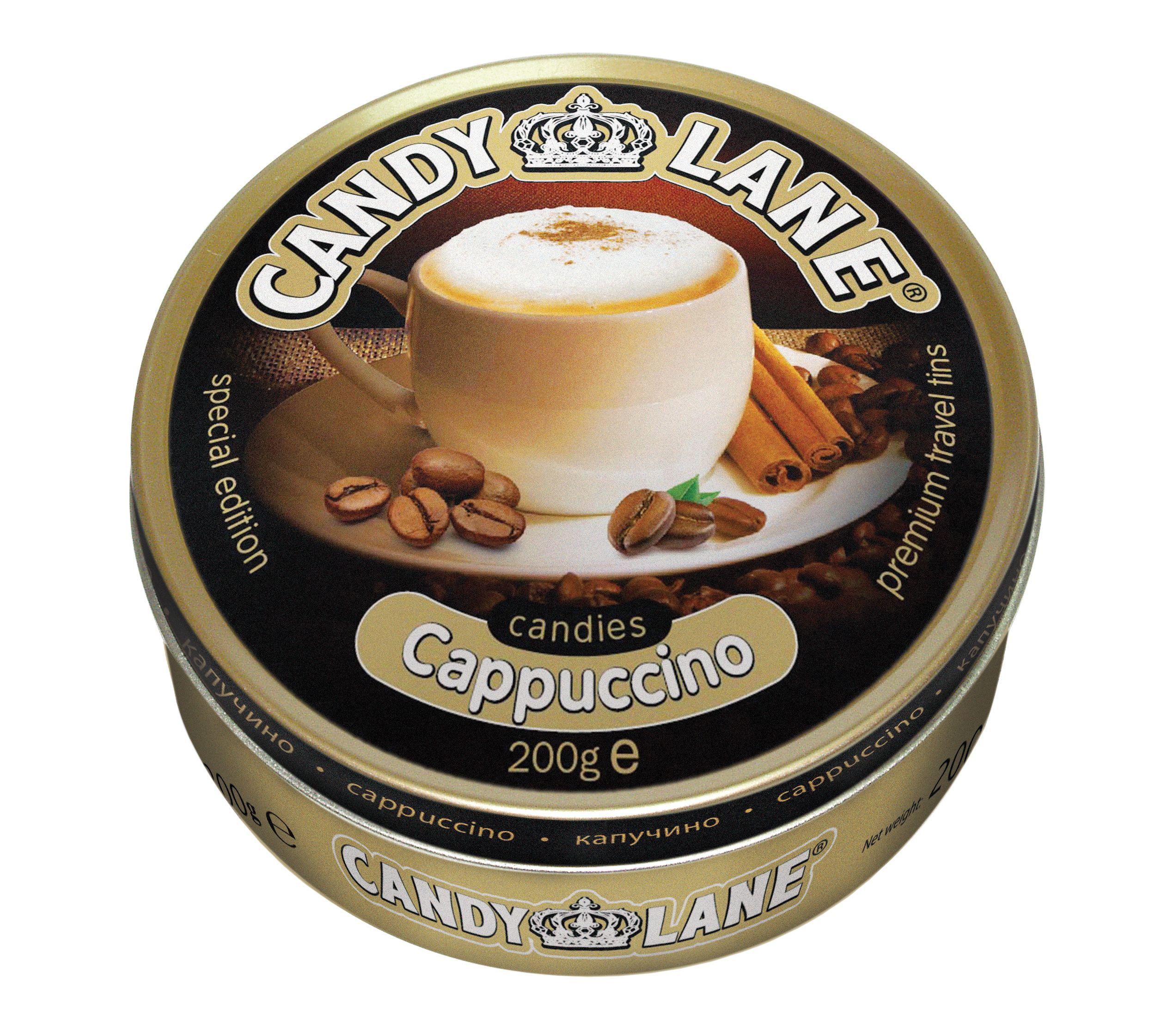 Фруктовые леденцы капучино Candy Lane