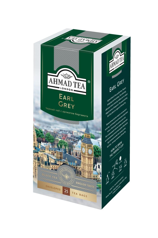 Ahmad Tea Чай черный Ahmad Tea Earl Grey 25 пак
