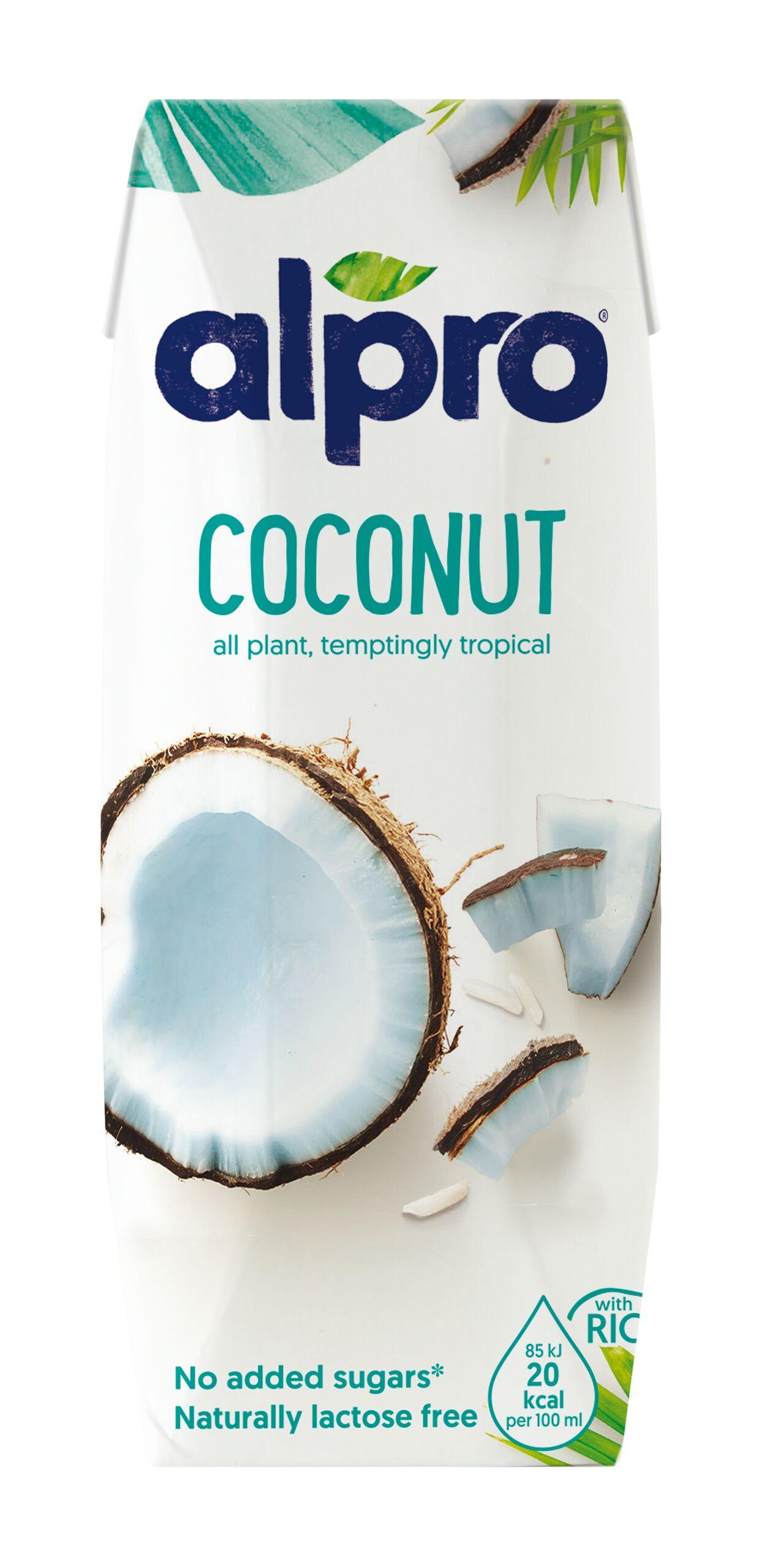 Напиток кокосовый с рисом обогащенный кальцием и витаминами Alpro