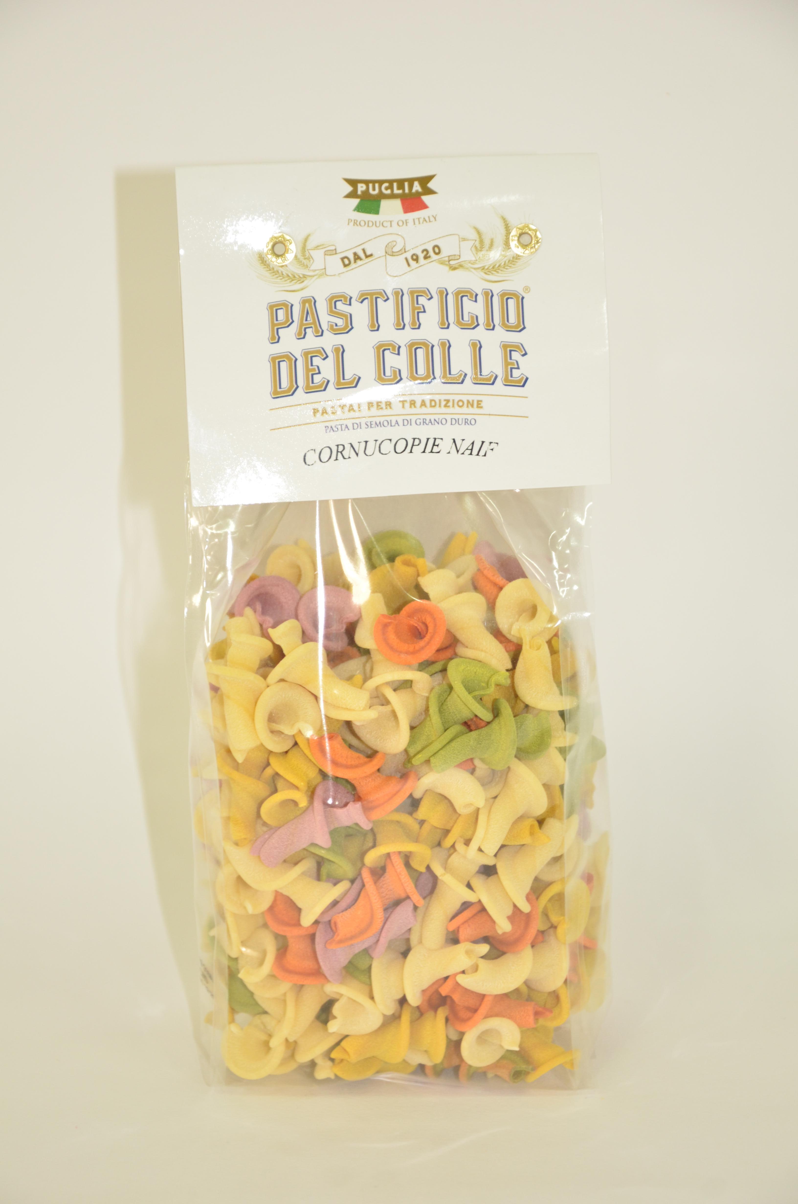 Макароны из твердых сортов пшеницы Cornucopie naif Pastificio del Colle