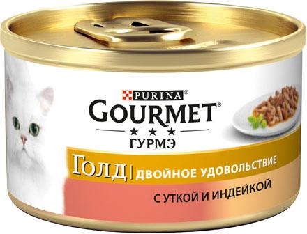 Фото - Gourmet Корм для кошек утка с индейкой Gourmet Gold antonio sotos gourmet перец паприка красный молотый сладкий antonio sotos gourmet