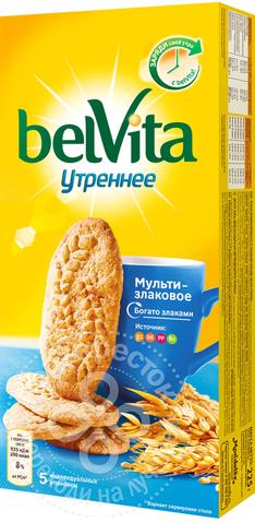 Печенье утреннее витаминное со злаковыми хлопьями BelVita