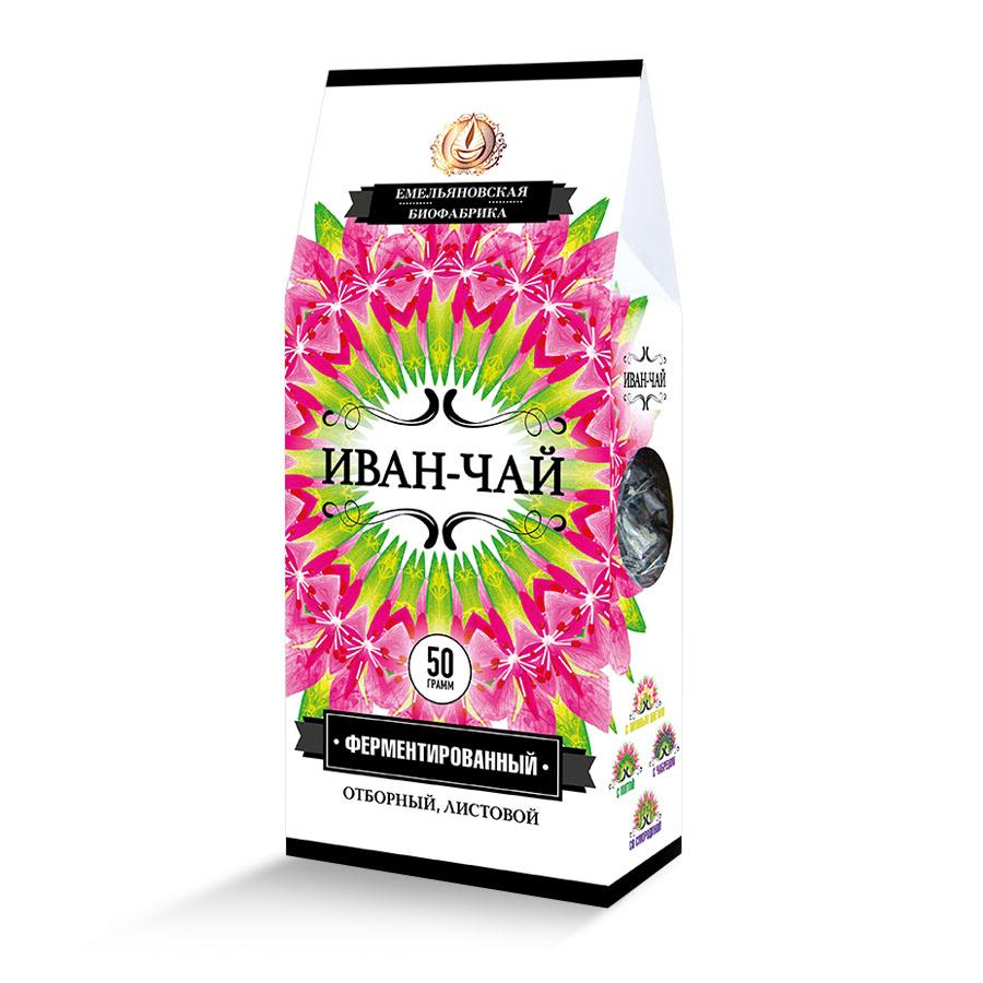 чай Иван чай Напиток чайный ферментированный листовой Иван-чай
