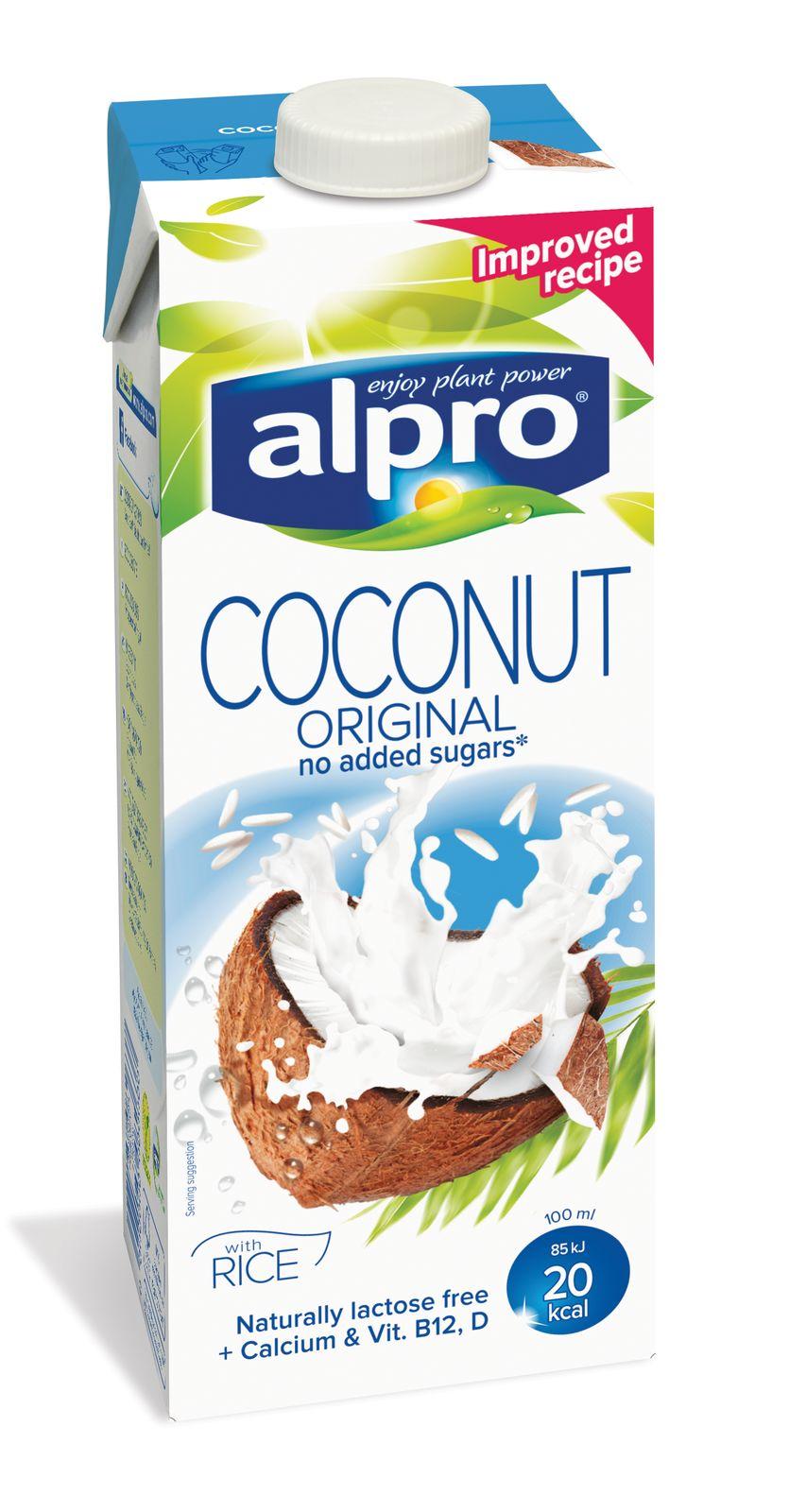 Напиток кокосовый с рисом обог.кальц.и вит.ALPRO 1л