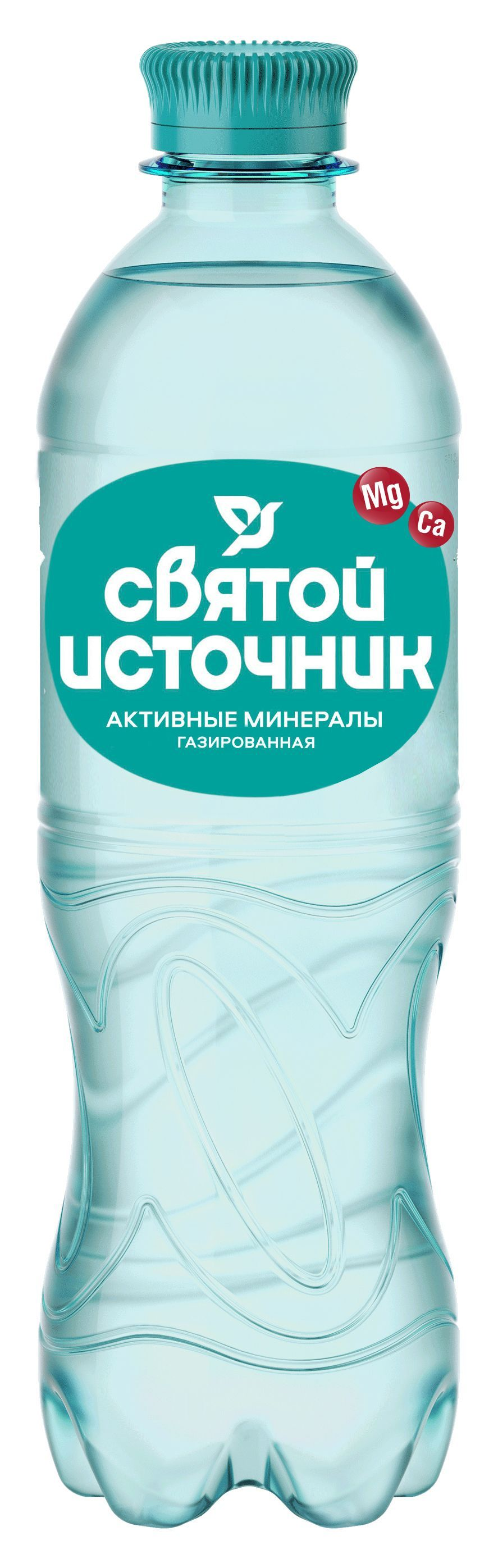 Святой Источник активные минералы газ. 0.5л ПЭТ