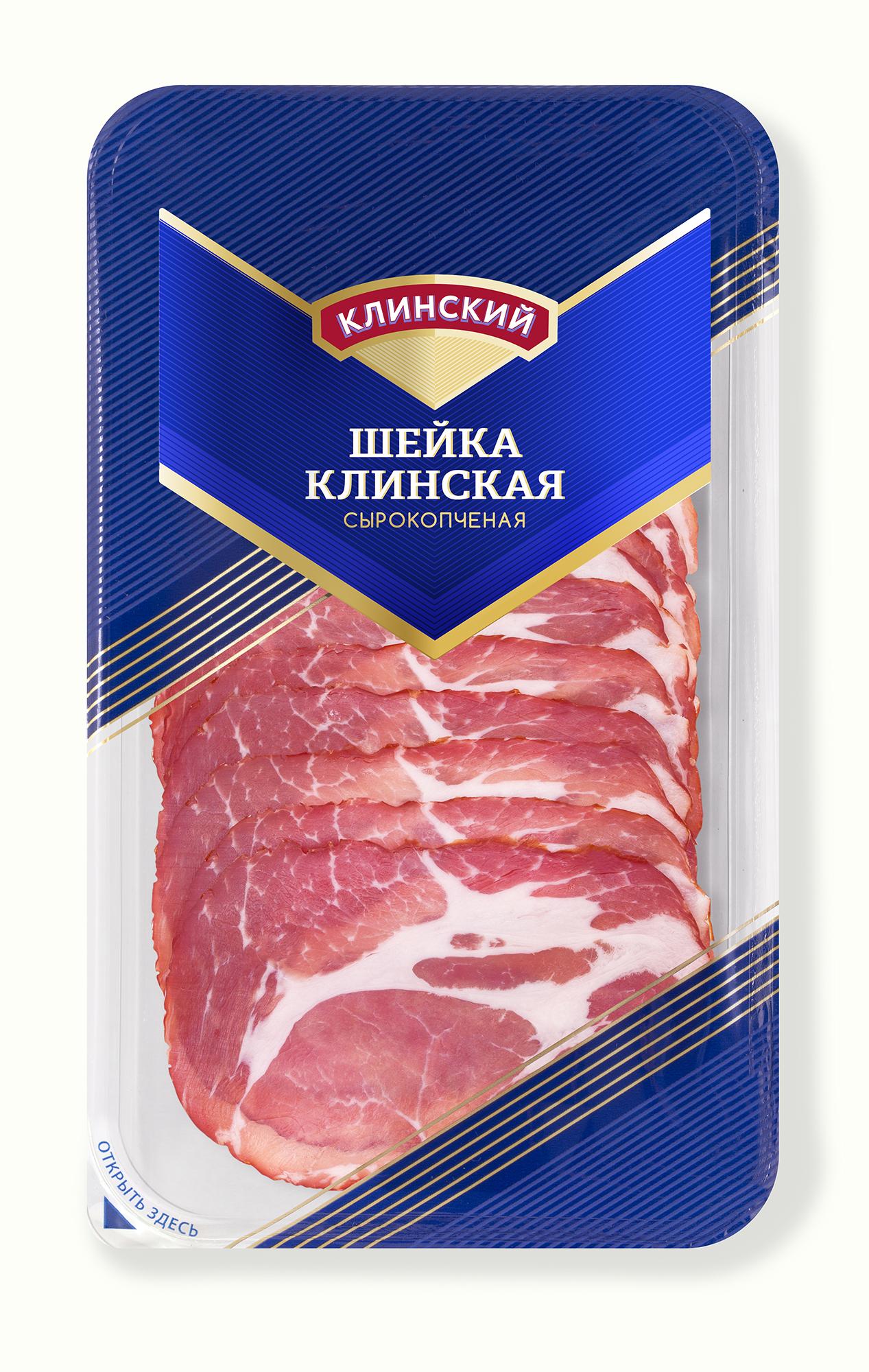 Шейка свиная с\к нарезка Клинский