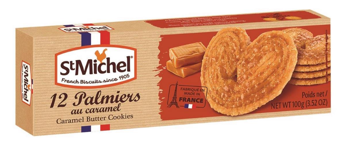Печенье сливочное карамельное Палмьерс StMichel