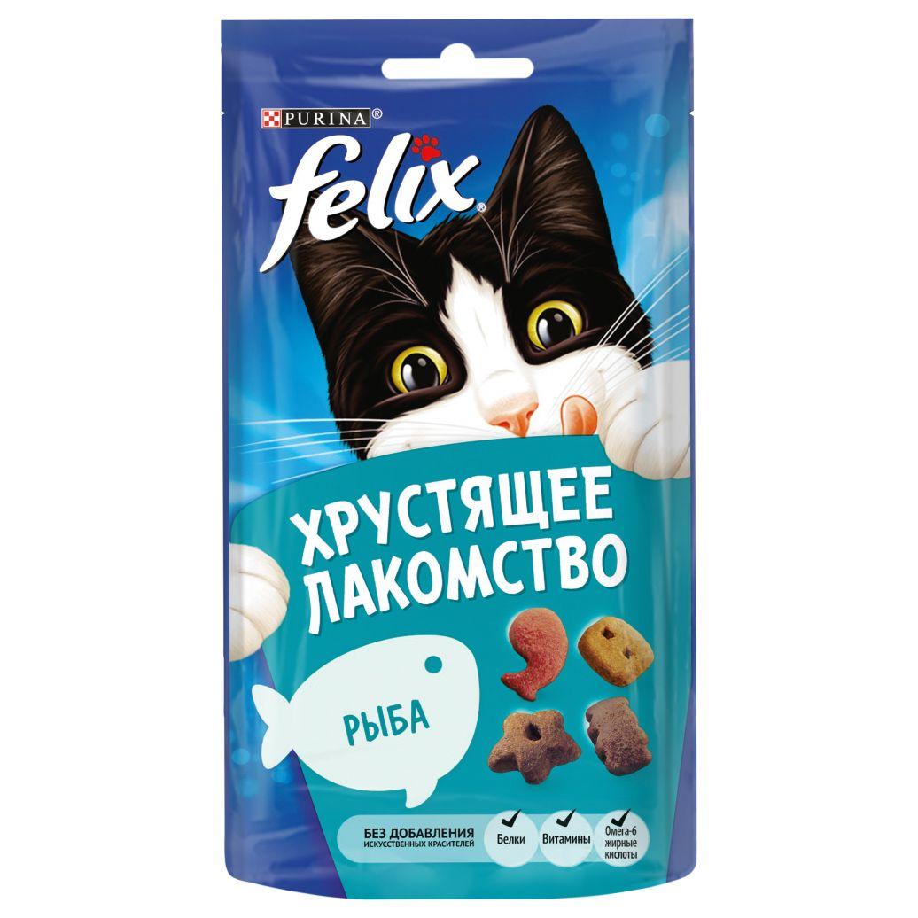 Felix Лакомство для кошек FELIX Рыба рубашка felix hardy felix hardy fe029emdkmr8