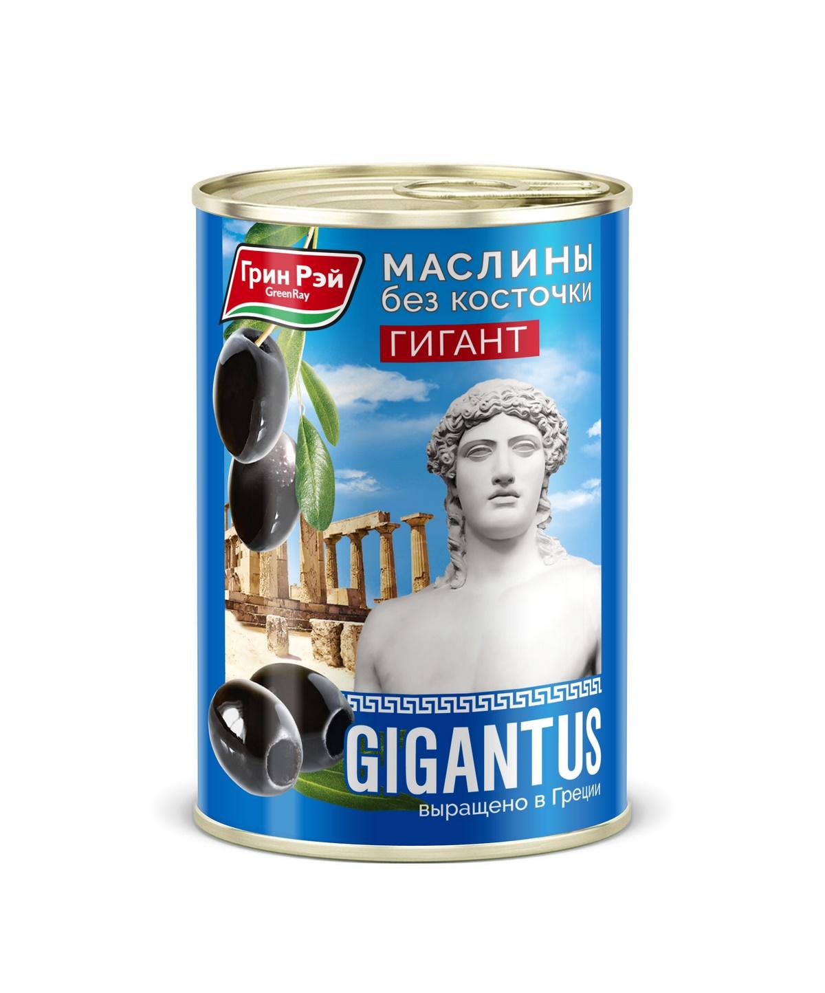 БЕЗ БРЭНДА Маслины гигантские без косточки Грин Рэй недорого